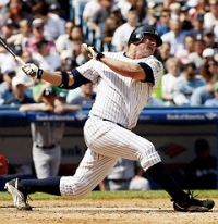 Yankees OF Jason Giambi
