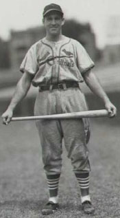 Cardinals' OF Enos Slaughter
