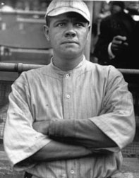 Red Sox P Babe Ruth