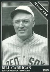 Red Sox Manager Bill Carrigan