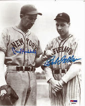Carl Hubbell and Bob Feller