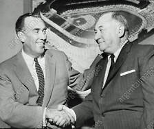 Yankees owner Dan Topping and GM George Weiss