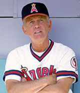Angels Manager Gene Mauch