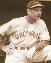 Cincinnati Manager Bill McKechnie