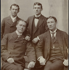 1894 Orioles Big Four