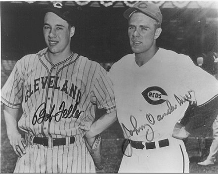 Bob Feller and Johnny Vander Meer