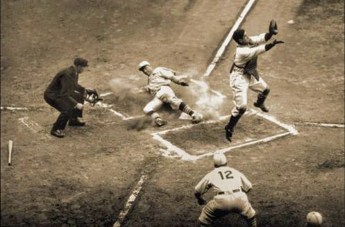 1934 World Series Action