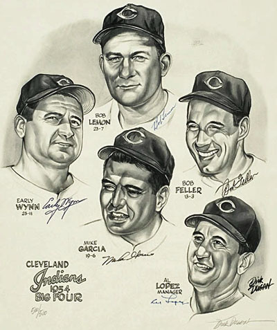 Cleveland's Big Four of 1954