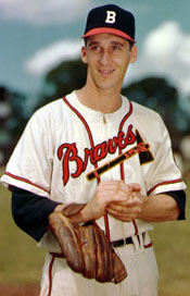 Braves P Warren Spahn