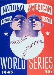 1945 World Series Program