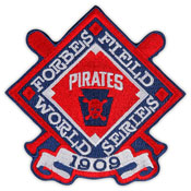 Pittsburgh Pirates 1909 World Series Patch