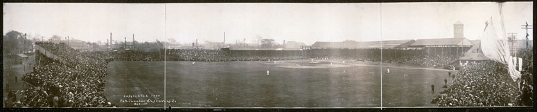 Bennett Park, Detroit, 1909 World Series