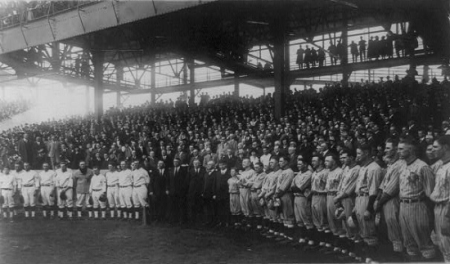 1924 World Series Game 7 - National Anthem