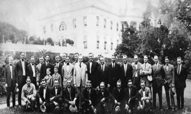 1924 Washington Senators at White House