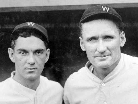 C Muddy Ruel and P Walter Johnson