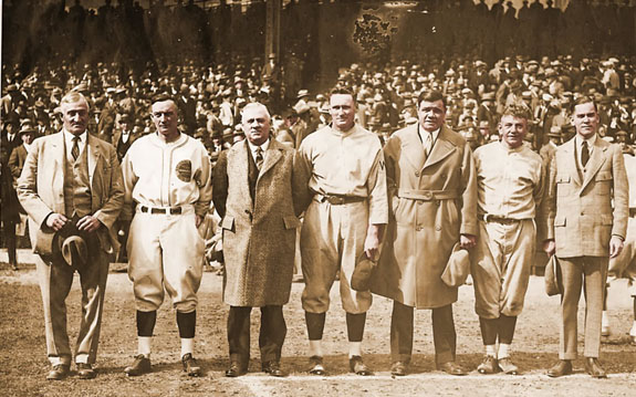 Dignitaries at 1925 World Series