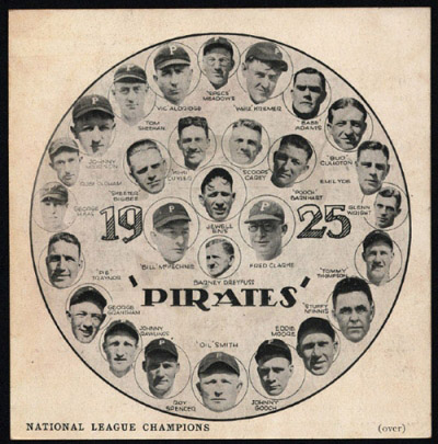 1925 Pittsburgh Pirates