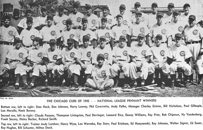 1945 Chicago Cubs