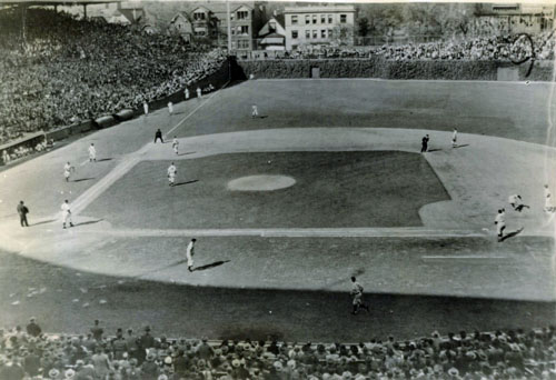 1945 World Series action