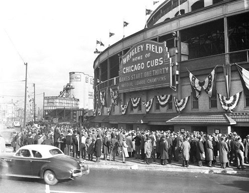 Wrigley Field 1945 World Series