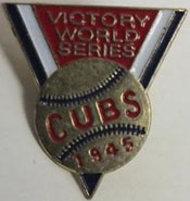Chicago Cubs 1945 Press Pin
