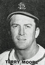 Cardinals Captain and CF Terry Moore