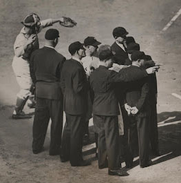 Six umpires for 1947 World Series