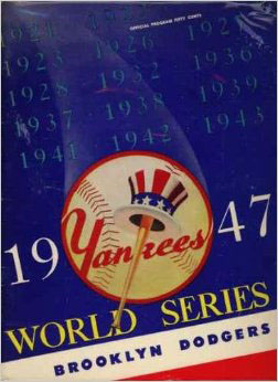 1947 World Series Program - Yankee Stadium