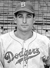Dodgers CF Carl Furillo