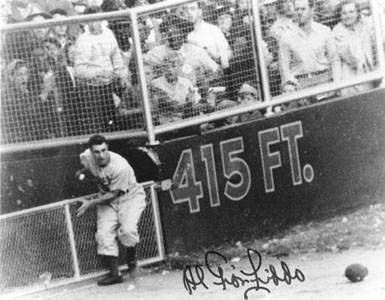 Game 6, 1947 World Series - Gionfriddo catch