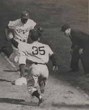 1947 World Series - Game 4 action