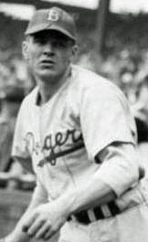 Dodgers P Joe Hatten
