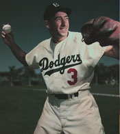 Dodgers 3B Billy Cox