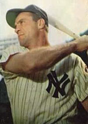 Yankees OF Hank Bauer