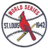 Cardinals 1942 World Series Patch