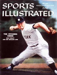 Yankees P Bob Turley SI Cover