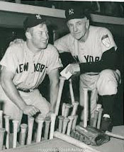 Mickey Mantle & Casey Stengel 1951