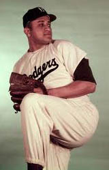Dodgers P Don Newcombe