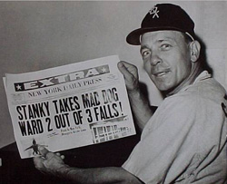 White Sox Manager Eddie Stanky