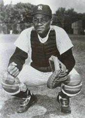 Yankees C Elston Howard