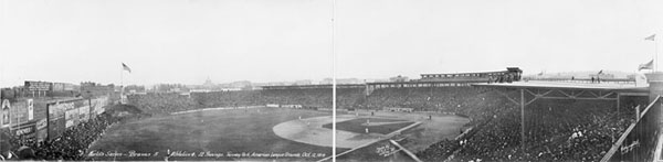 Fenway Park during 1914 World Series