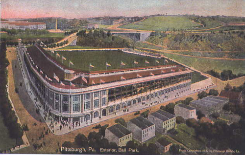 Forbes Field, Pittsburgh, 1909