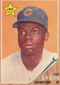 Cubs OF Lou Brock