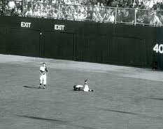 Fallen Mickey Mantle