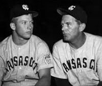 Mickey Mantle & George Selkirk
