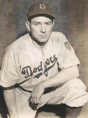 Dodgers C Mickey Owen