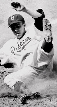 Dodgers SS Pee Wee Reese