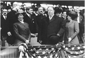 President Taft Throws Out First Ball 1910