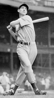 Youthful Ted Williams