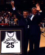Perry Wallace's Jersey Retired at Vanderbilt